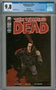 The Walking Dead  #100 2nd Print Variant CGC 9.8 1st App Negan Image Comic